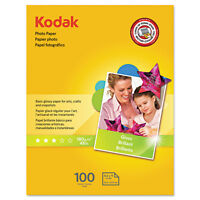Kodak Photo Paper 6.5 Mil Glossy 8-1/2 X 11 100 Sheets/pack 8209017 on sale