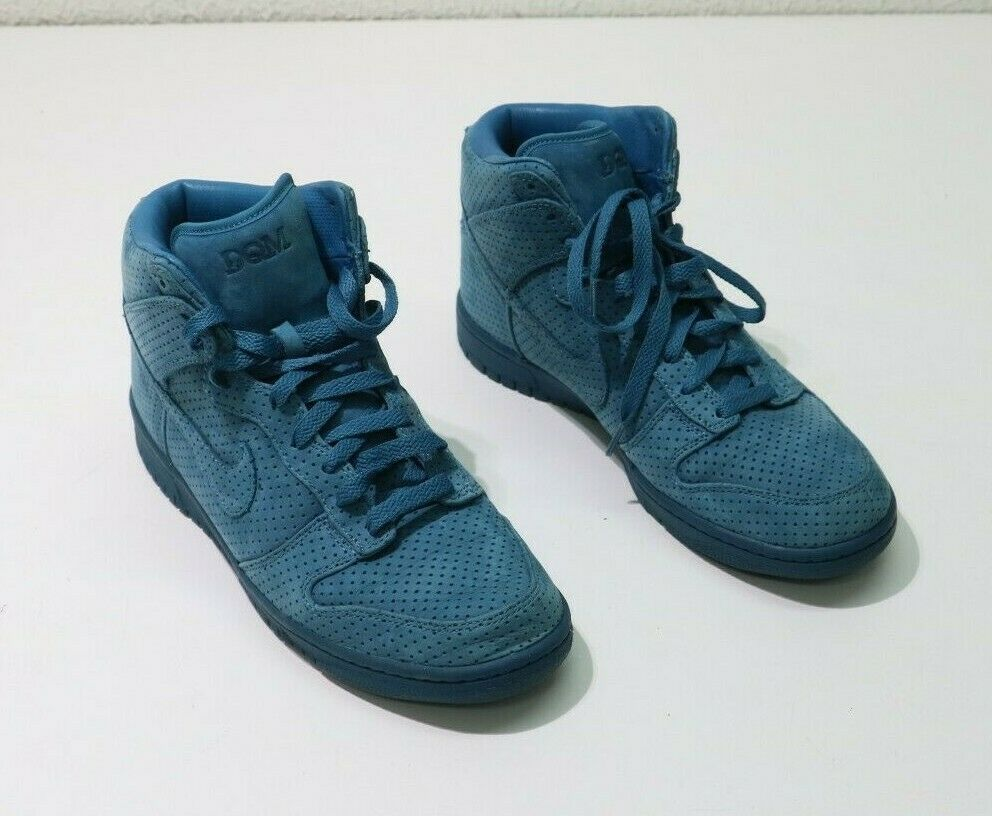 Nike Dunk High Premium  Dqm  323437 441 bluee Size 8.5(US) 42(EUR) Sneakers