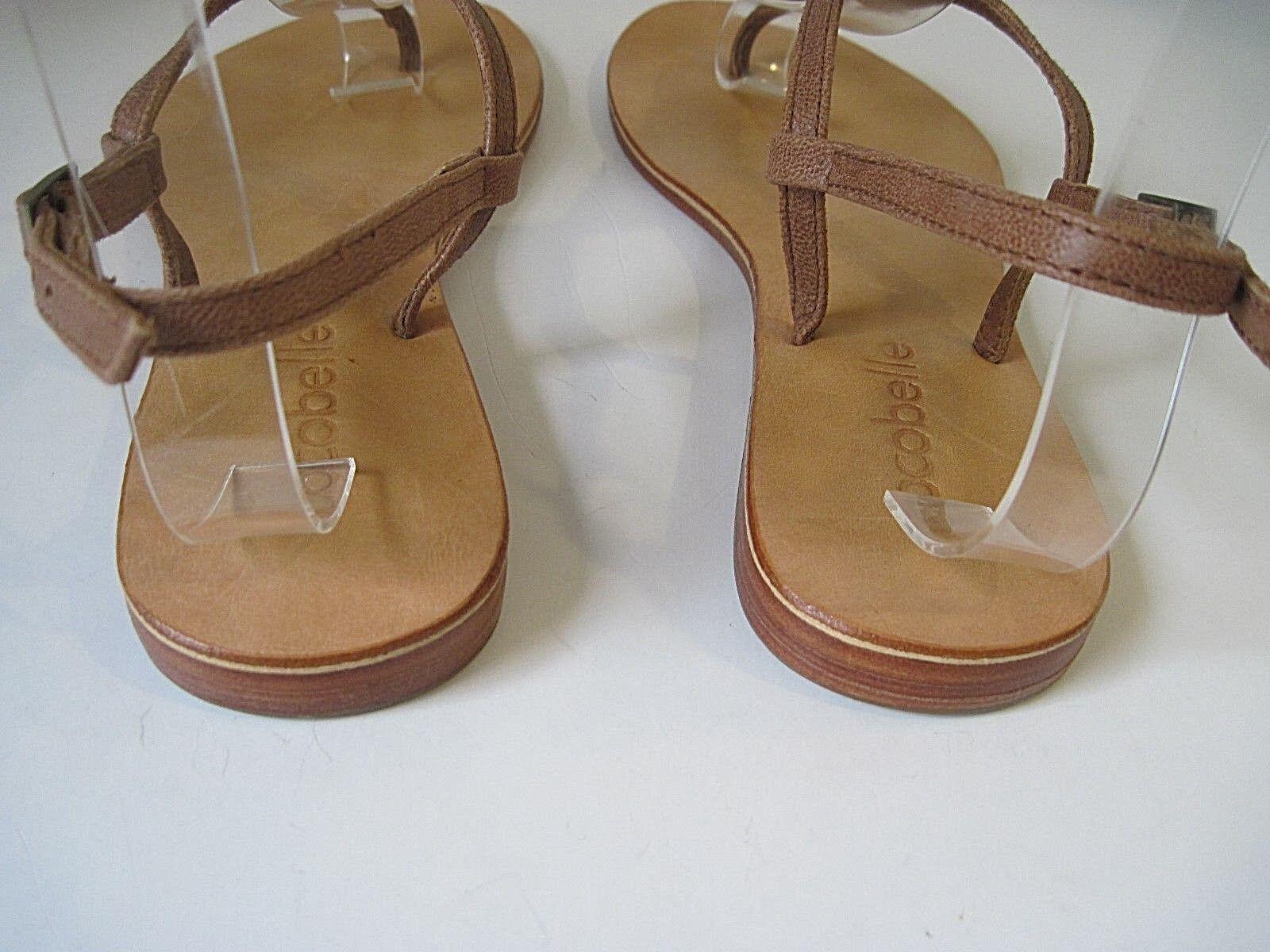 Cocobelle Pelle Pelle Cocobelle Embellished Strappy Thong Sandals Size 6.5 / 37 Handmade f877ec