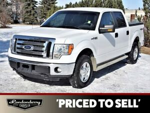 2012 Ford F 150 4WD SUPERCREW XLT Accident Free,  Bluetooth,  A/C,