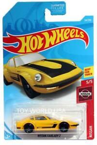Hot Wheels 2019 Nissan Series #54 Nissan Fairlady Z Yellow w// 5SPs NISMO