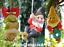 Grand-Gnome-amant-cadeau-arbre-escalade-pendaison-Corde-Ornement-Decoration-Sculpture miniature 8