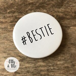 Image Is Loading 45mm Badge Fun Cheap Birthday Gift Present Bestie