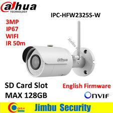 Dahua IPC-HFW2325S-W 3MP IR50M IP67 mini camera WIFI SD Card slot