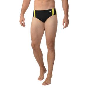 Adidas-Event-Brief-Swim-Boxer-Trunks-Brief-Black-amp-Yellow