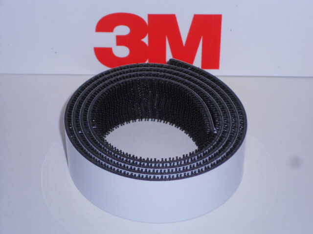 """3M™ Dual Lock™ Reclosable Fastener 1/"""" x 150/' Black SJ3540"""