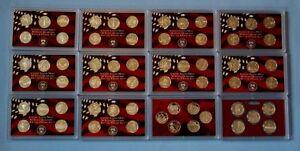 1999-2010-Silver-Proof-Quarter-Sets-61-Coins-No-Box