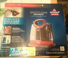 BRAND NEW IN BOX. BISSELL SpotClean ProHeat Portable Spot Cleaner, 52079