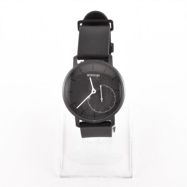Withings Aktivitätstracker Pop shark grau Fitness Uhr gebraucht