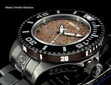 """NEW Invicta 47mm Grand Diver 2 Gen II Automatic LAVA """"VOLCANO"""" Dial Black Watch"""