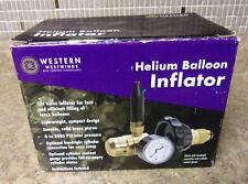 Western RPB-6G Economy Helium Balloon Inflator with Gauge