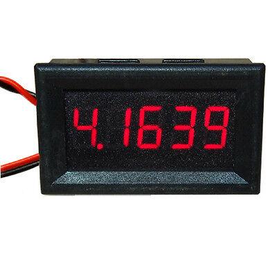 1Pcs 5 Digit Red LED DC 0-4.3000-33.000V Digital Voltage Meter Panel Voltmeter