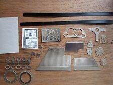 Pocher 1/8 Ferrari F40 Metal Detail Transkit Upgrade Kit Interior + Chassis