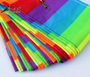 NEW-30m-Long-Tail-8-colours-Kite-Accessory-for-Delta-Kite-Stunt-Software-Kite