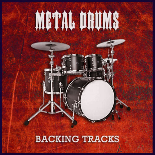 CD or Download Heavy Metal Drum Backing Jam Tracks for Guitar /& Bass