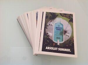 136-Cartoline-Promocard-Absolut-Wodka-Tutte-Diverse-Nuove-E-Mai-Viaggiate