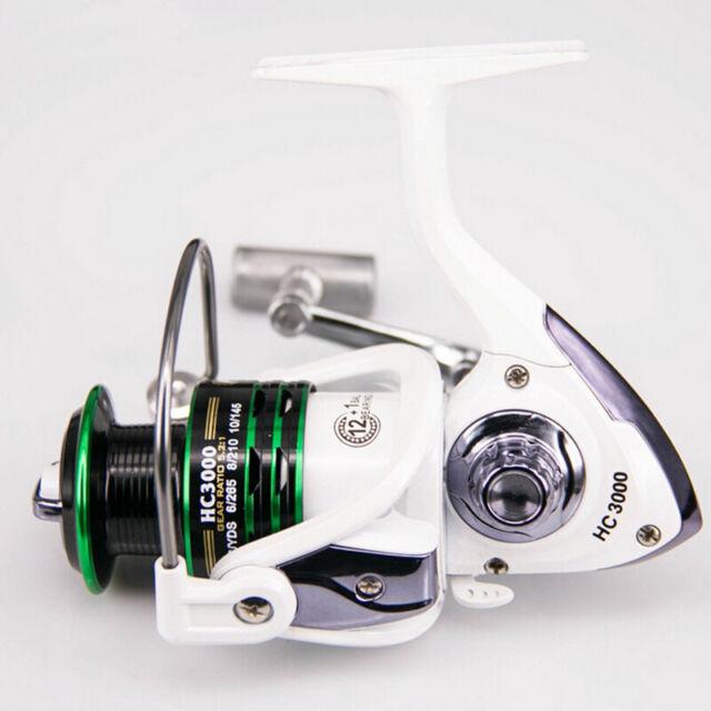 Saltwater Metal Fishing Reels Fish Spinning Reel Bearing 8BB Gear Ratio 5.2:1