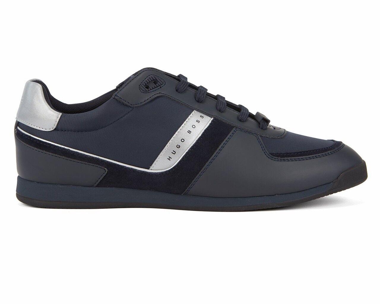 Hugo Boss Maze bajo Tech 2 50397622 410 Zapatillas para hombre zapatos tenis azul oscuro