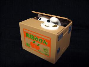 Piggy-Bank-Animated-Kitten-Stealing-Coin-Bank-Orange-Crate