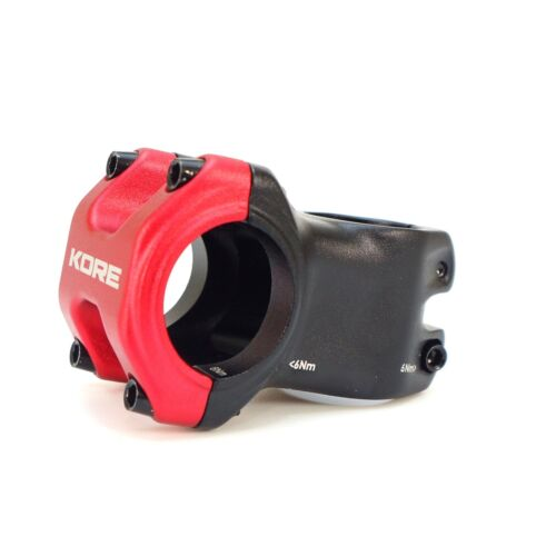 "Kore Cubix 1-1//8/"" 31.8x50mm MTB DH Bike Stem Clamp Cap Color-Silver//Red//Blue"
