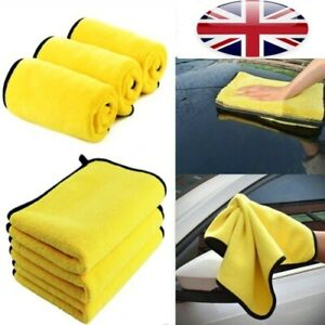 Super-Soft-Car-Kitchen-Absorbent-Microfiber-Towel-Cleaning-Drying-Wash-Cloth-ED