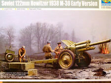 Trumpeter 1:35 M-30 122mm Howitzer 1938 Early Version Soviet Howitzer Model Kit