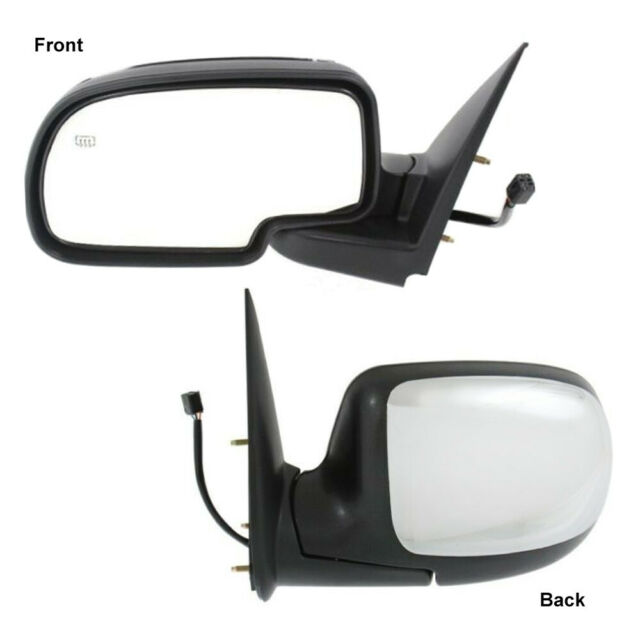 Driver Left LH Chrome Power Heated Side View Mirror for 1999-02 Chevy GMC Pickup
