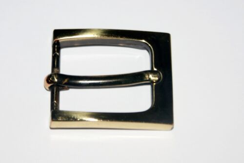 """QUALITY BRASS LOOK BUCKLES FOR A 1/"""" BELT STRAP"""