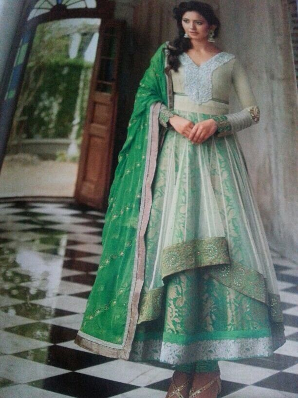 SALE  BOLLYWOOD DESIGNER SALWAR KAMEEZ UNSTITCHED WITH EMBROIDERY BY FLORAL