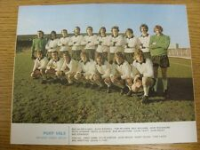 1973/1974 Football League Review: Vol 8 No 32 - Colour Picture - Port Vale [Geof