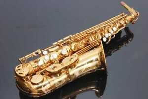 SELMER Alto saxophone reference 54 Antique gold lacquer Ameserle