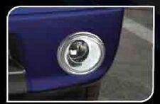 CHROME FOG LAMP LIGHT COVER TRIM FOR NISSAN NAVARA FRONTIER D40 2005-2010