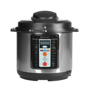 Avalon-Bay-Pressure-Cooker-Multi-Function-Electric-PC1000SS-Silver-REFURBISHED