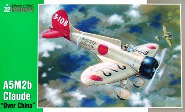 MITSUBISHI A5M2B CLAUDE (JAPANESE AF MARKINGS) 1 32 SPECIAL HOBBY