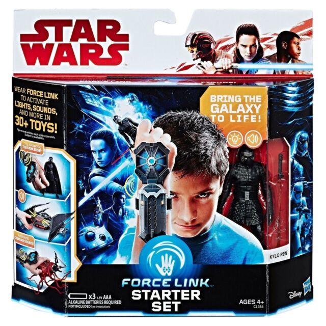 Star Wars Force Fuerza enlace Starter Set Que Incluye figura de enlace Hasbro Nuevo Original
