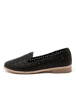 Image is loading New-Django-amp-Juliette-Anson-Black-Womens-Shoes-