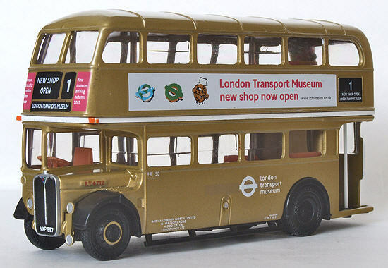 EFE AEC RT BUS (LONDON TRANSPORT MUSEUM SHOP 2007)10131C