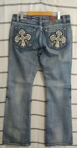 Women-039-s-Red-Label-London-Boot-cut-By-Rose-Royce-jeans-Size-31