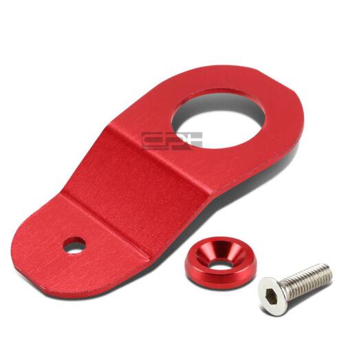 Fit Ek Ej Dc S2K Red Cnc Billet Aluminum Radiator Stay Mount Bracket+Washer Kit