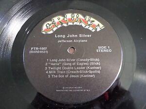 Jefferson-Airplane-Long-John-Silver-LP-1972-DISC-ONLY-Liner-Vinyl-Record