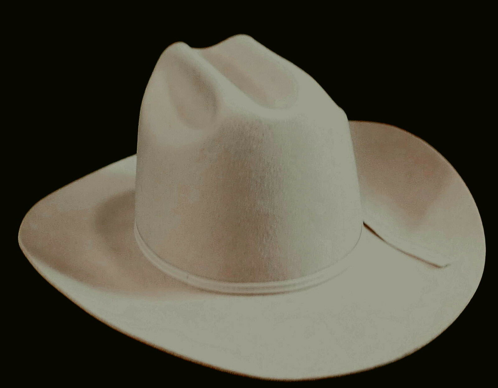 Reed Hill Western Hat Bone Fur Blend 7, tillverkad i USA
