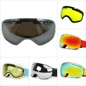 f4ffeb43d4a Image is loading Pro-Snow-Ski-Snowboard-Goggles-Double-Lens-Polarized-