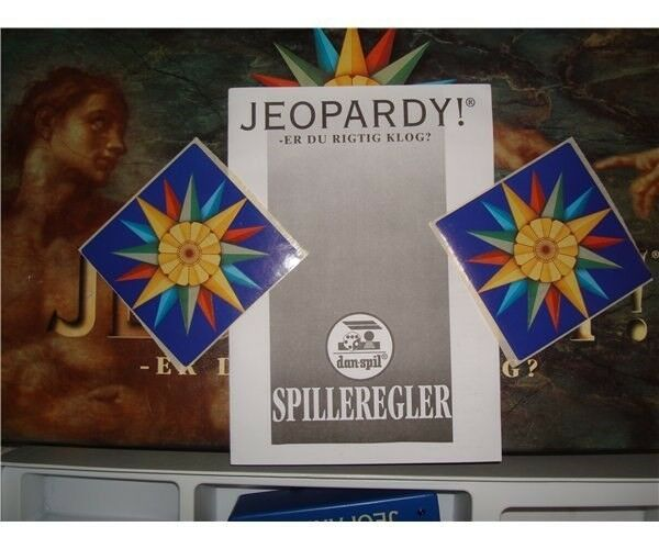 Jeopardy, brætspil