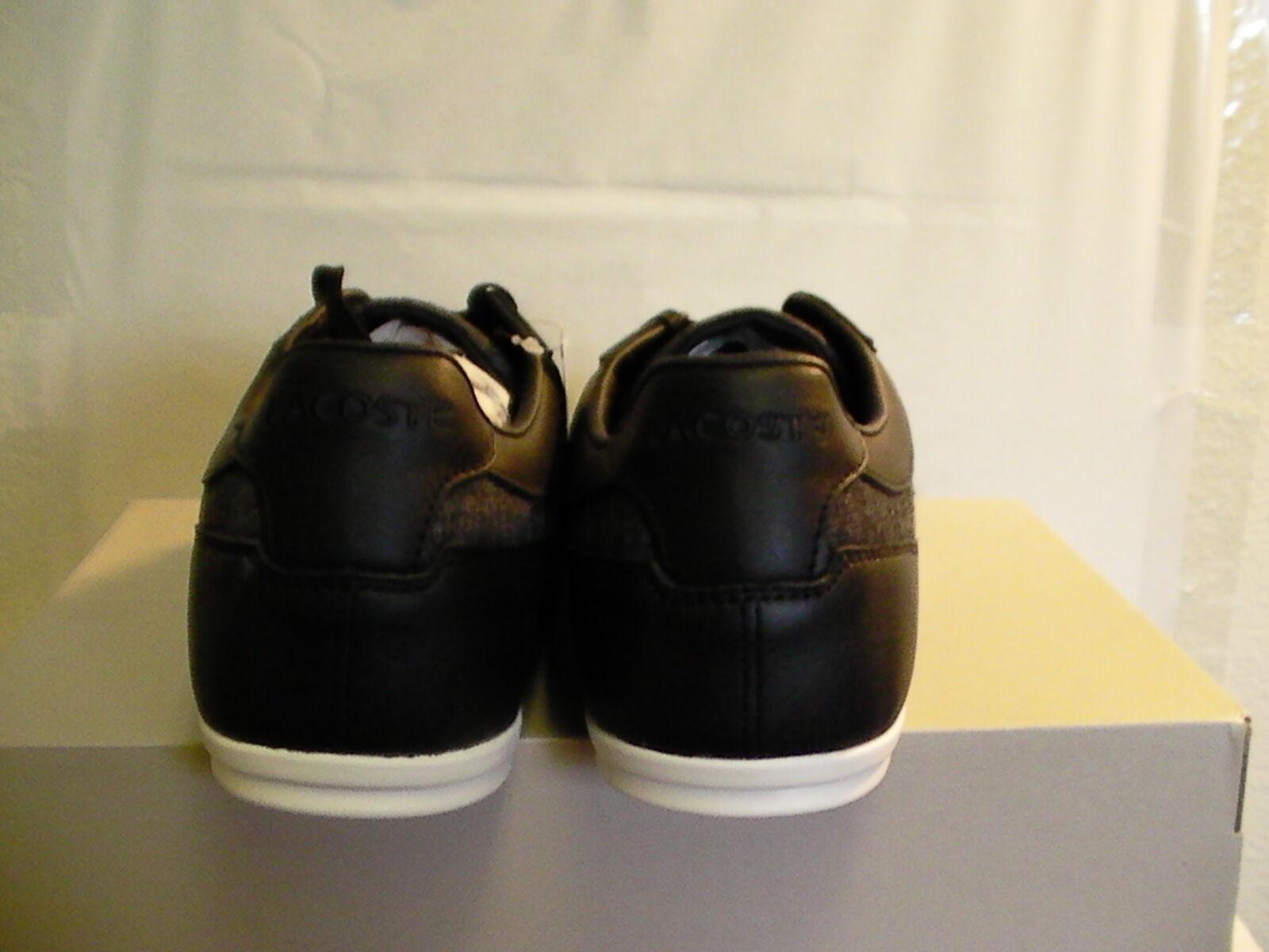 Lacoste Scarpe da Uomo Casual Alissos Alissos Alissos 13 Spm Nero Tessuto pelle Taglia 11 USA | Buona qualità  | Scolaro/Ragazze Scarpa  c5b188