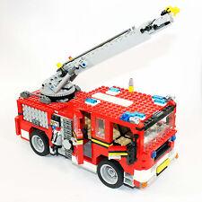 Lego 6752 Feuerwehr Feuerwehrauto Leiterwagen Fire Rescue - almost complete