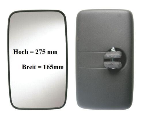Außenspiegel Ersatz Spiegel Transporter VW LT Kasten 275x165 ø16-24 12V /& 24V
