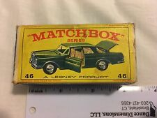 Original Lesney Matchbox Mercedes 300 SE Coupe #46, Made In England - Box Only