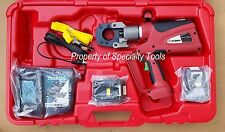 Burndy Patcut129li Battery Powered Hydraulic Cable Wire Cutter Rod Cutting Tool