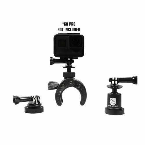Mob Armor Action Camera Bundle, One Size, Black action armor black camera mob one