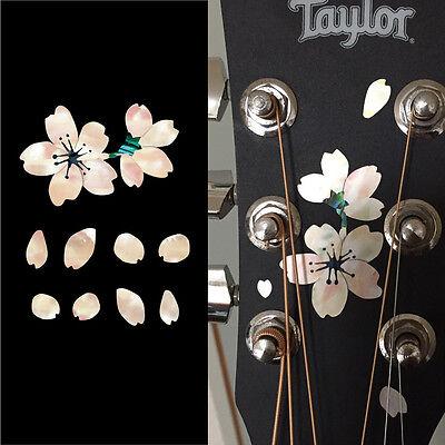 Sakura (Cherry Blossoms) Inlay Sticker Decal Headstock Pickguard Guitar & Bass